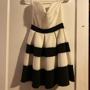Tube striped dress